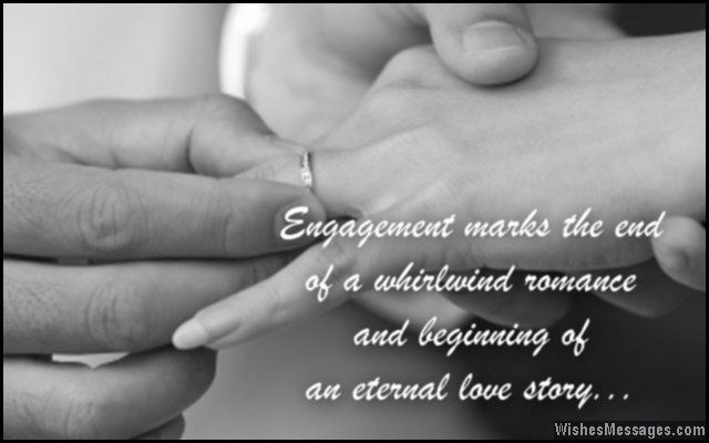 En Ement Marks The End Of A Whirlwind Romance And Beginning Of An Eternal Love Story