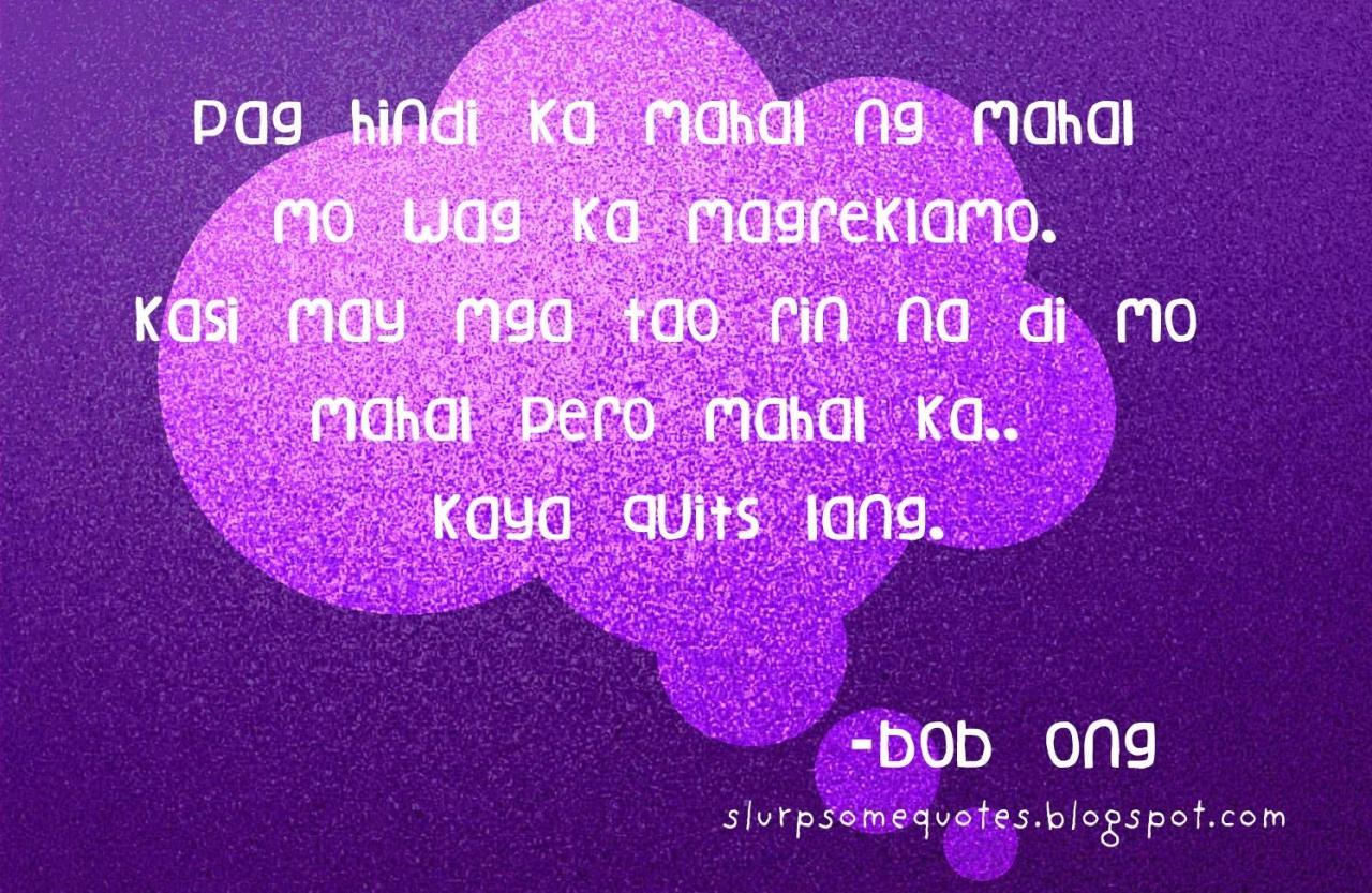 Love Quotes Tagalog Bob Ong  Iaaeqid
