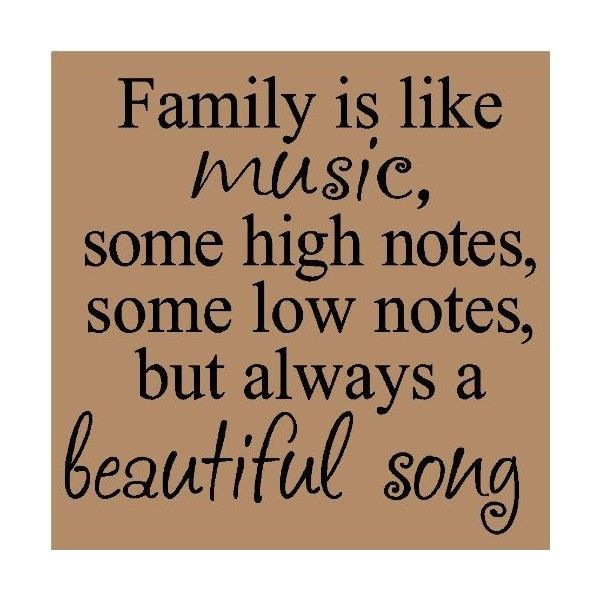Wall Sayings Vinyl Lettering T Family Is Like Music Some High Quote Familylove
