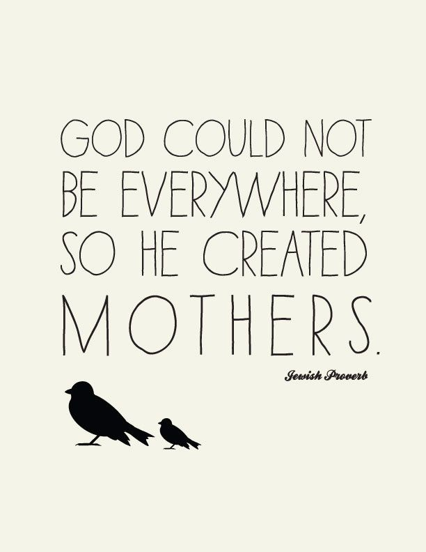 Items Similar To Love Quote For Mothers Jewish Proverb Art Print Unique Gifts For Mom Great Christmas Or Hanukkah Gift On Etsy