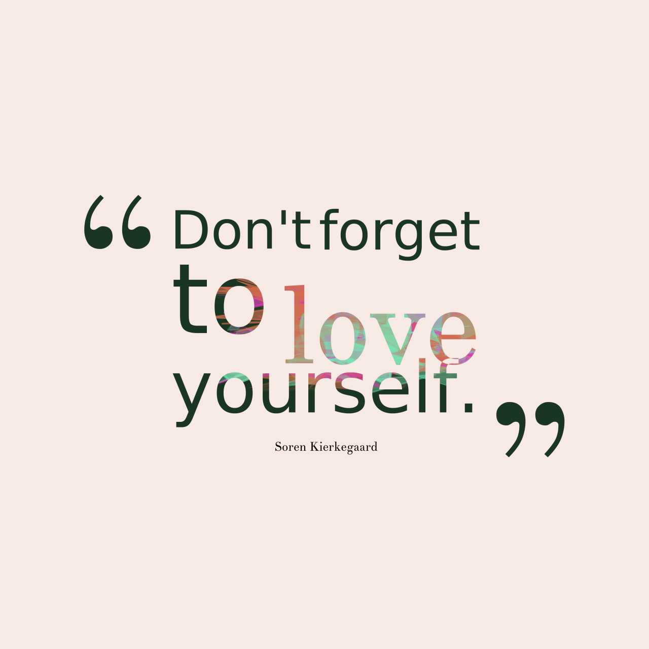 Loving Yourself Quotes Lets Start A Love Yourself Campaign