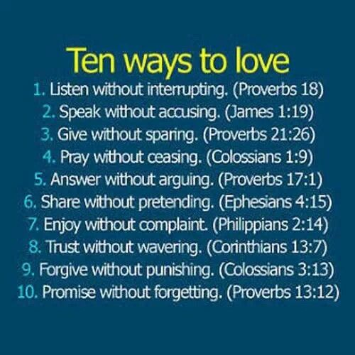 Some Short Sweet Words Of Loving Advice From My Heavenly Father