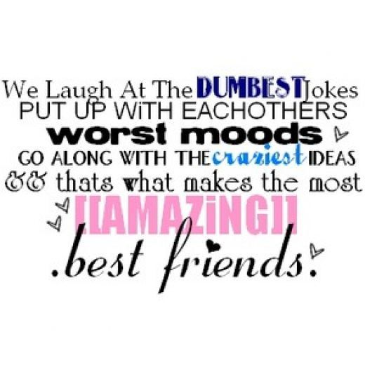 Best Friend Quotes This Is For My Best Friend I Love You