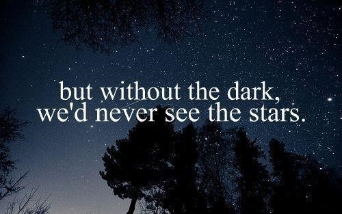 Its The Dark That Makes Stars Visible