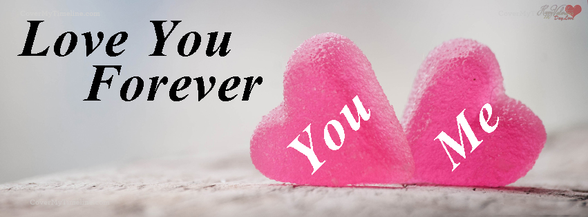 Love Forever Valentines Day Cover P O You Me