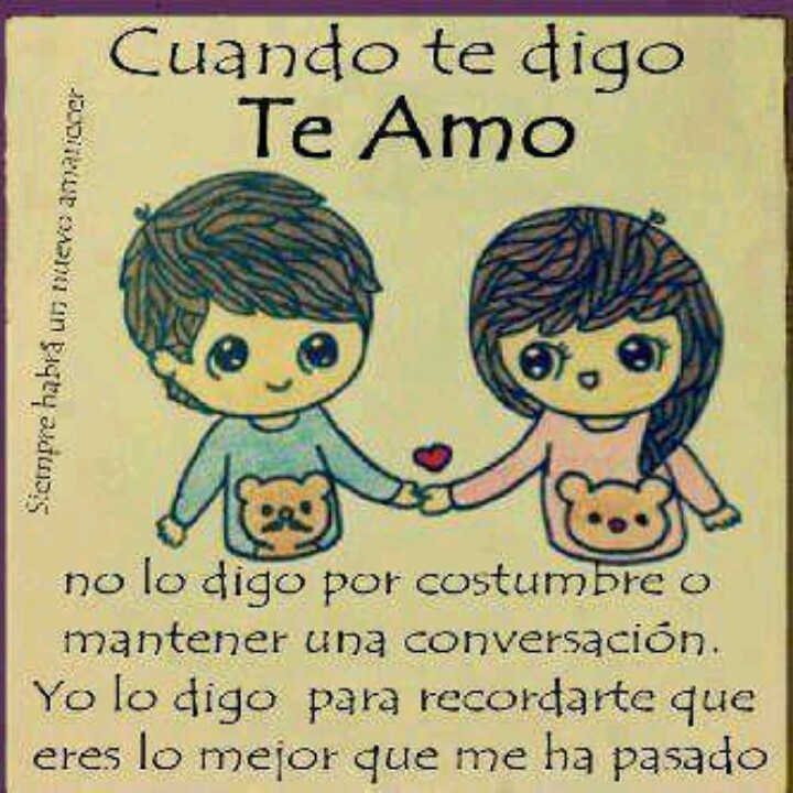 I Love You Picture Quotes In Spanish | Hover Me