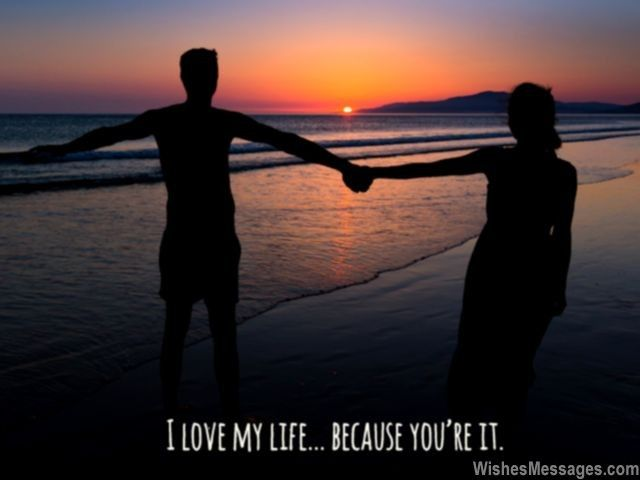 I Love My Life Because Youre It Via Wishesmessages