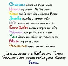 News And Pictures Of Disney Love Quotes Disney Princess Love Quote Disney Princess Fan Art  Image By Www