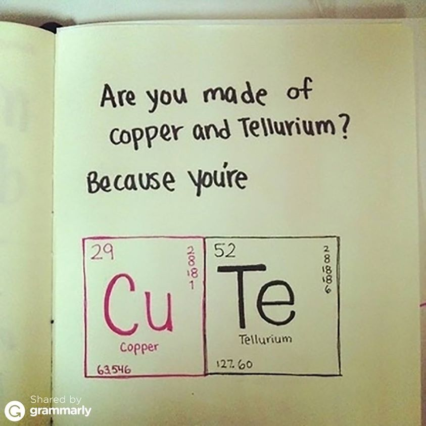 Nerdy Pick Up Lines