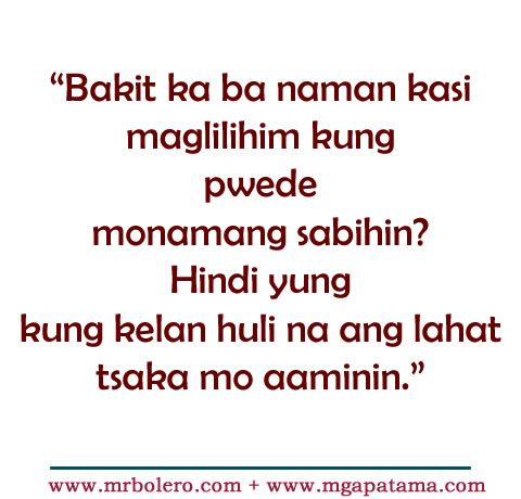 Patama Tagalog Quotes Move On Quotes