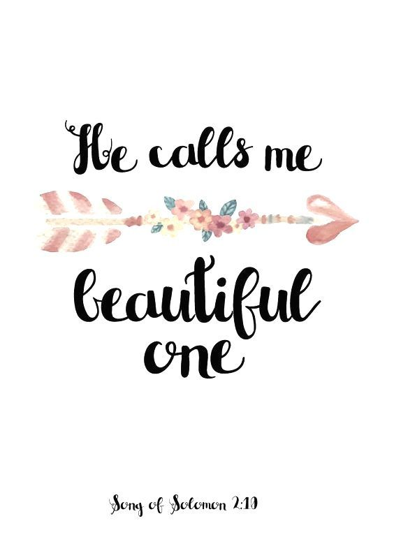 Song Of Solomon We Never Get Tired Of Beinged Beautiful By The People We Care About It Has A Sweet Aroma To