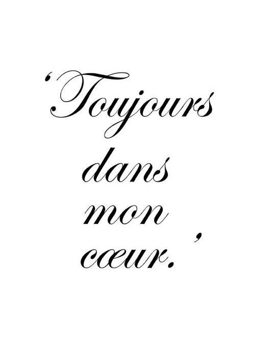 Audreylovesparis Tattoos In Frenchfrench Tattoo Quotesfrench Love