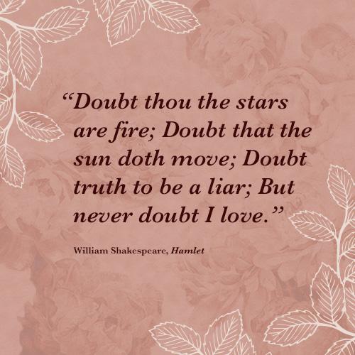 Romantic Lit Quotes  Williamshakespeare