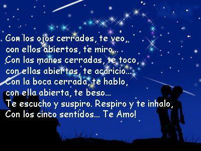 Short Love Poems In Spanish Love Spanish Words