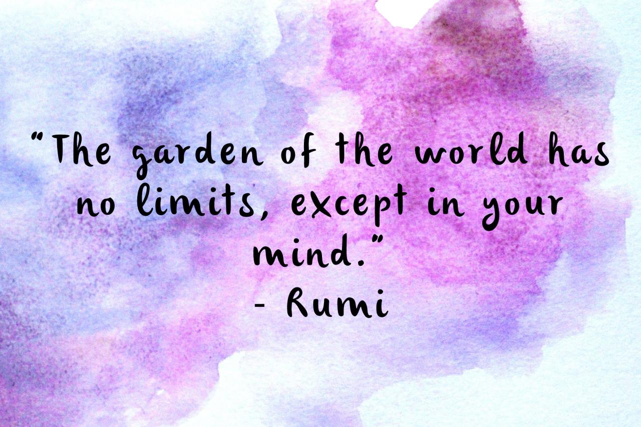 Posters Prints And Wallpapers Connection Quotes Rumi