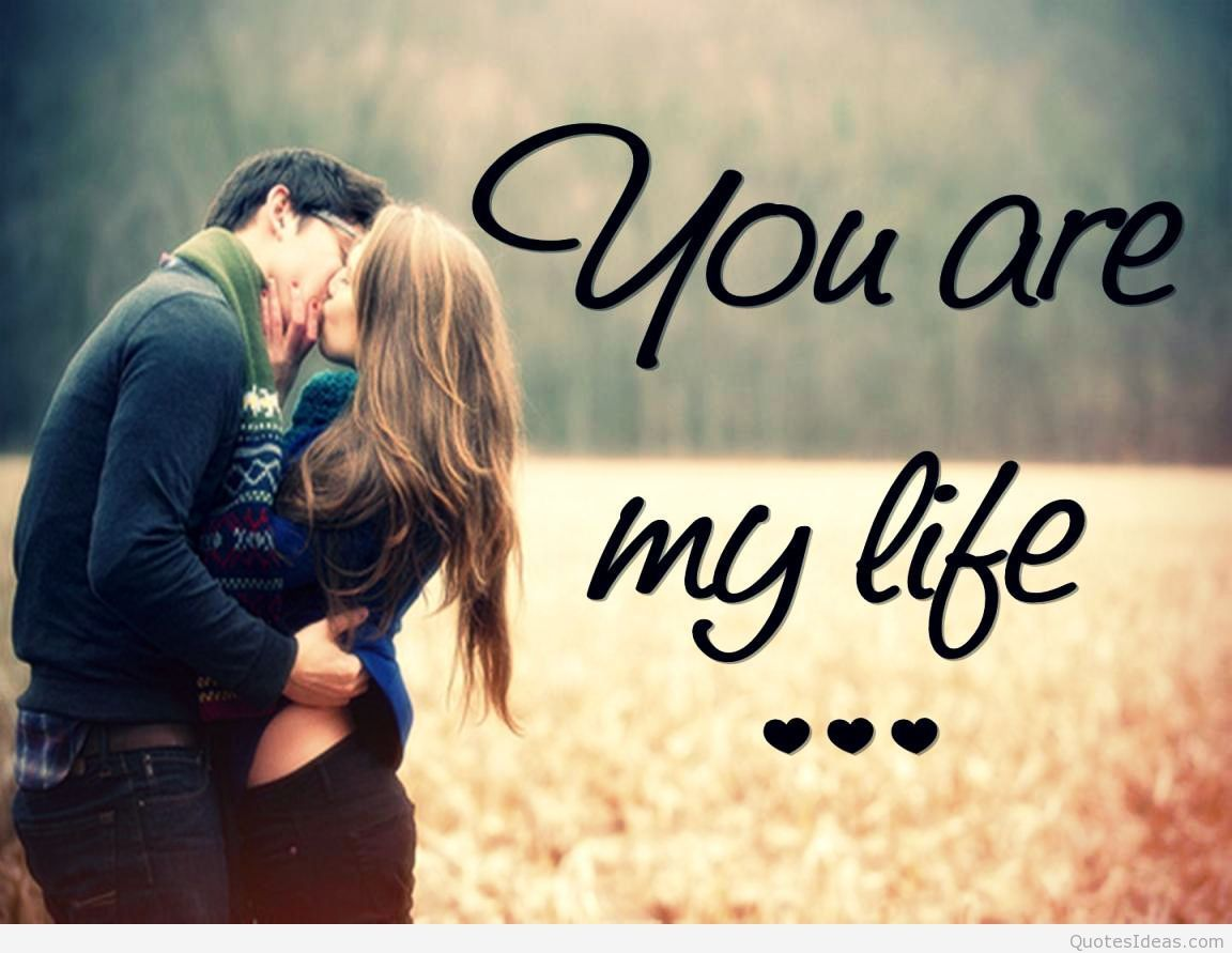 Cute Couple Wallpaper With Quotes Hd Resolution