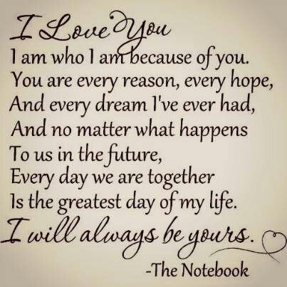 I Love You I Am Who I Am Because Of You You Are My