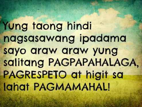 Inspirational Tagalog Love Quotes And Sayings With Images And Pictures Funny And True Love Tagalog Quotes For Her And For Him Love Quotes For All