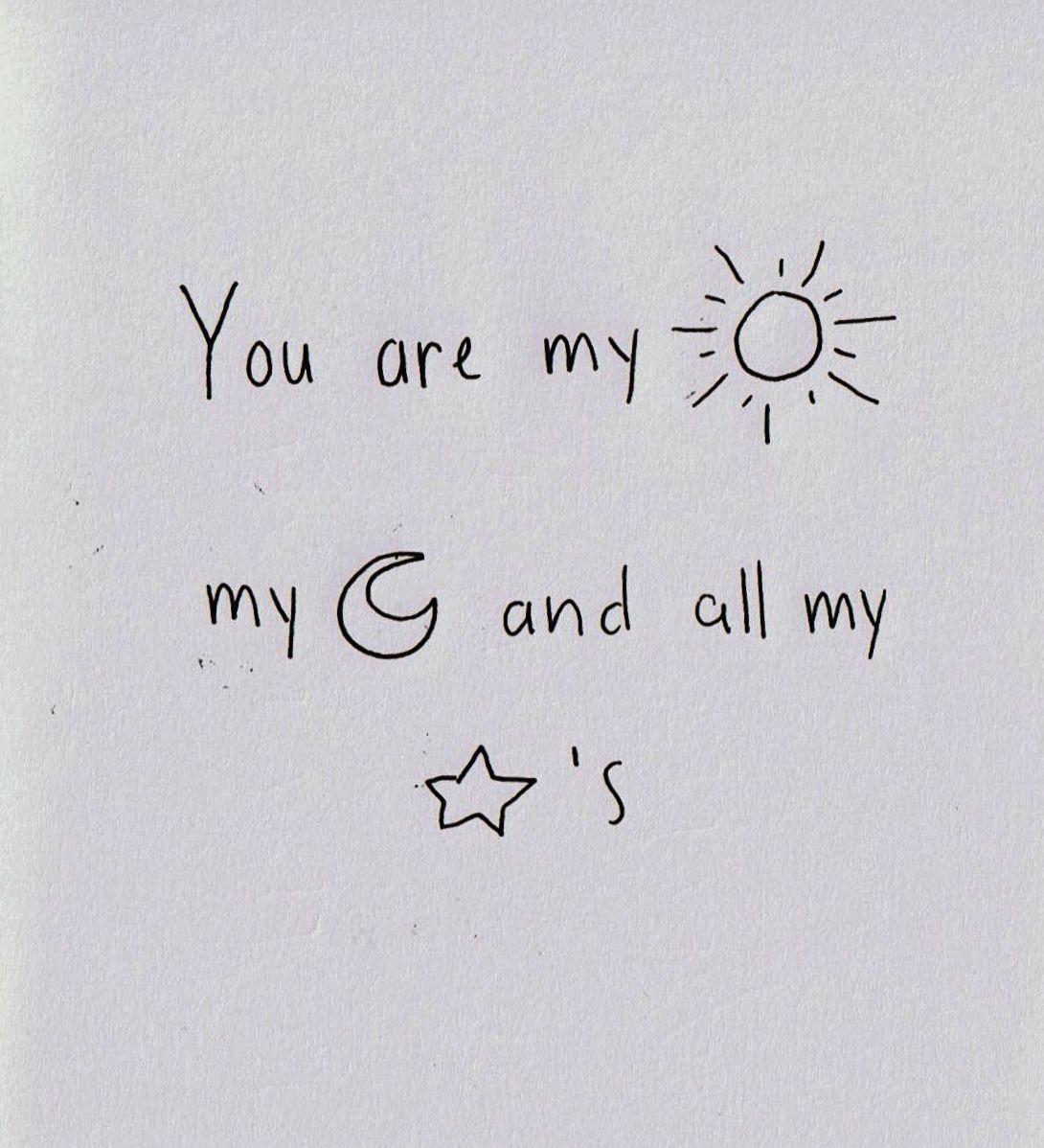 Skyeisthelimit Simple Short Quotesshort Cute Love