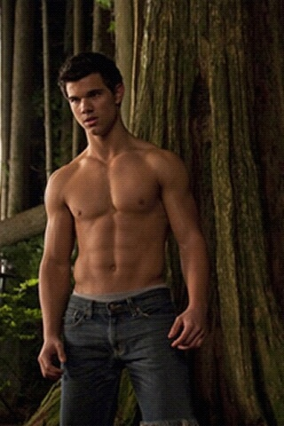 Twilights Jacob Black Shirtless In The Forest
