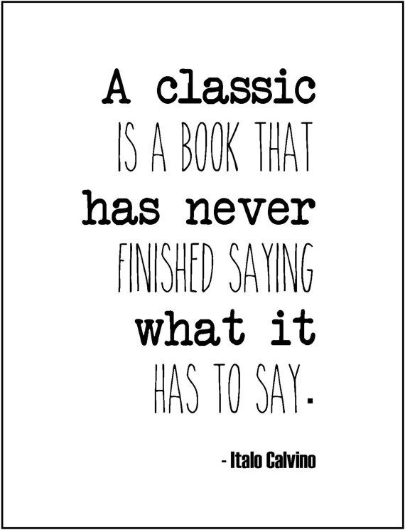Literary Quote Cl Ic Books Typography Print Love For Books Li Rian Gift English Major Teacher Gift Literature Novels Author Book Lover