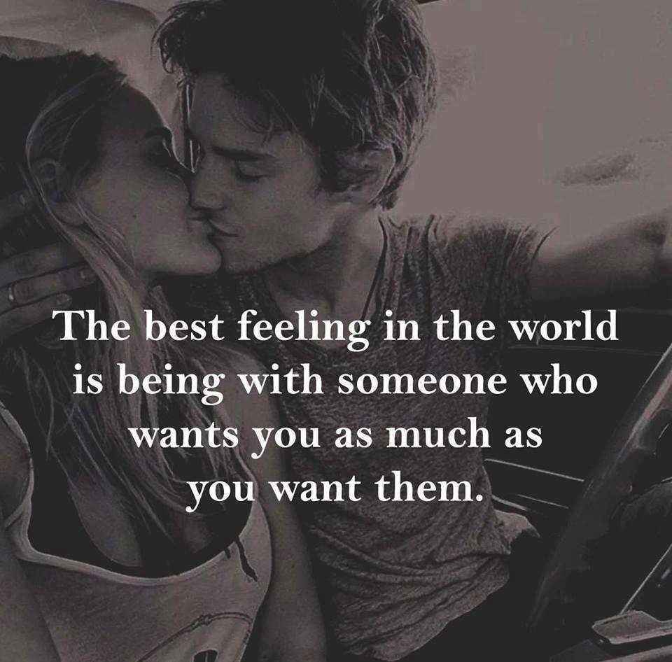 Best Feeling I Love You Quote Image