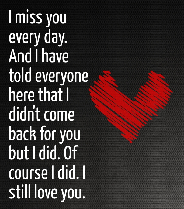 Best Love Quotes To Get Her Back