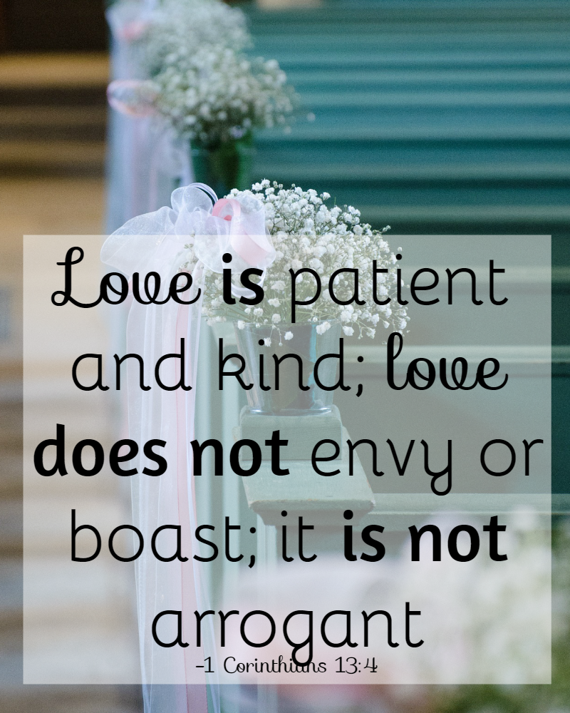 Bible Quotes About Patience  Love Is Patient