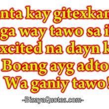 Bisaya Quote