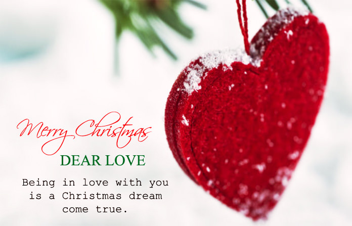 Christmas Love Messages For Lovers