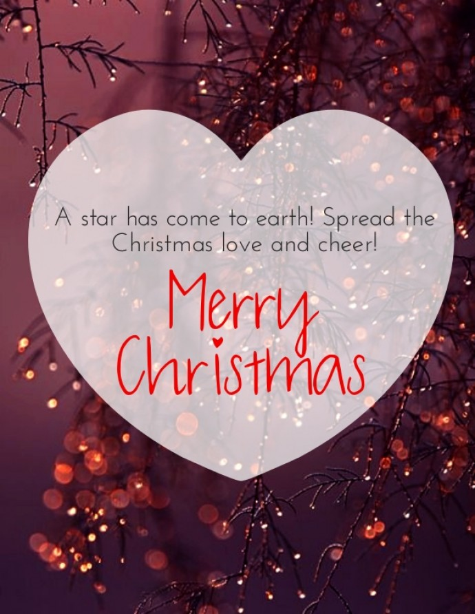 Spread The Christmas Love And Cheer