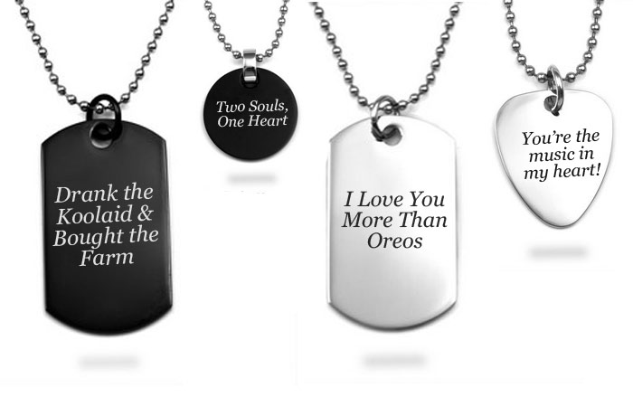 Our Favorite Custom Engravings To Express Love