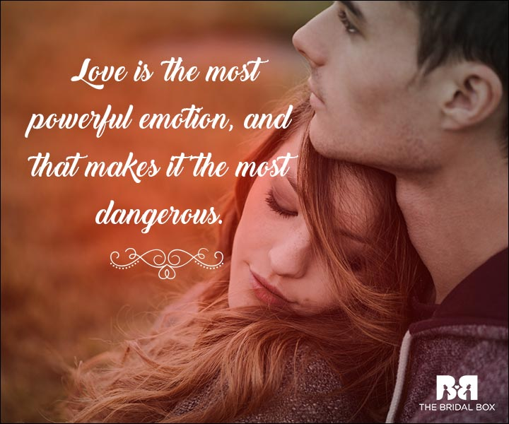 Emotional Love Quotes The Most Powerful Emotion