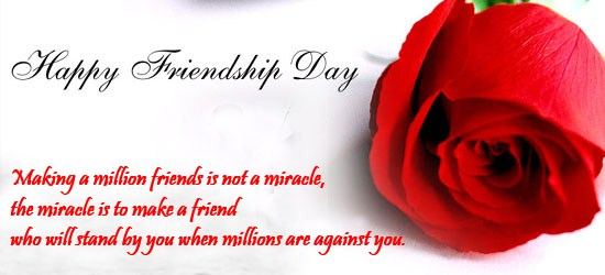 Friendship Day With Quote To Impress Your Girl