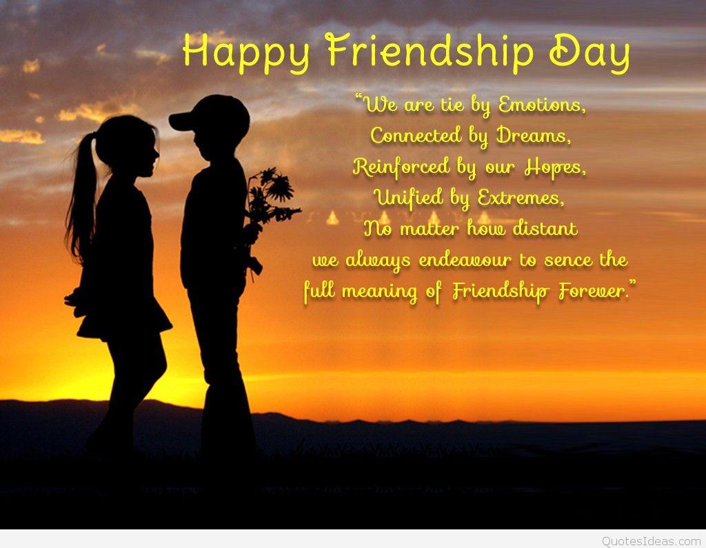 Happy Friendship Day  Love Quotes For Girlfriend Boyfriend
