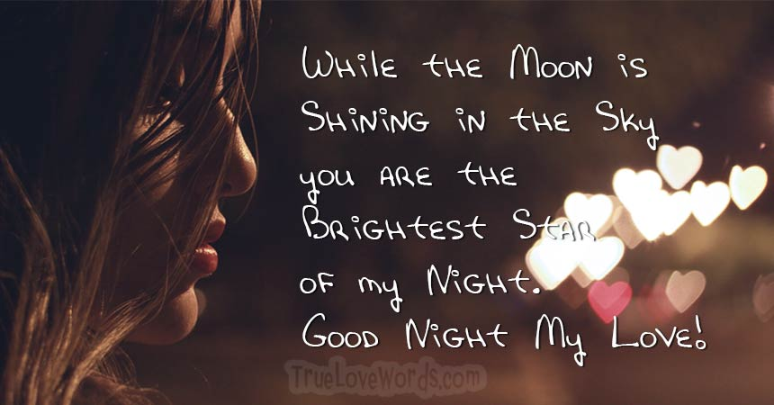 Good Night My Love Good Night Messages For Him