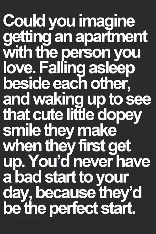 I Love Waking Up Next To You Quotes