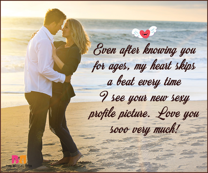 I Love You Messages For Wife My Heart Skips A Beat