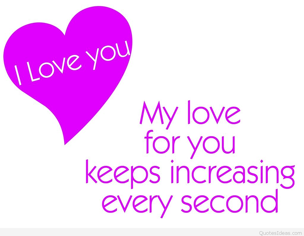 I Love You Quote For My Boyfriend
