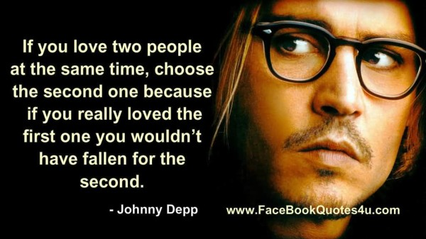 Inspirational Love Quotes And Quotations By Johnny Depp
