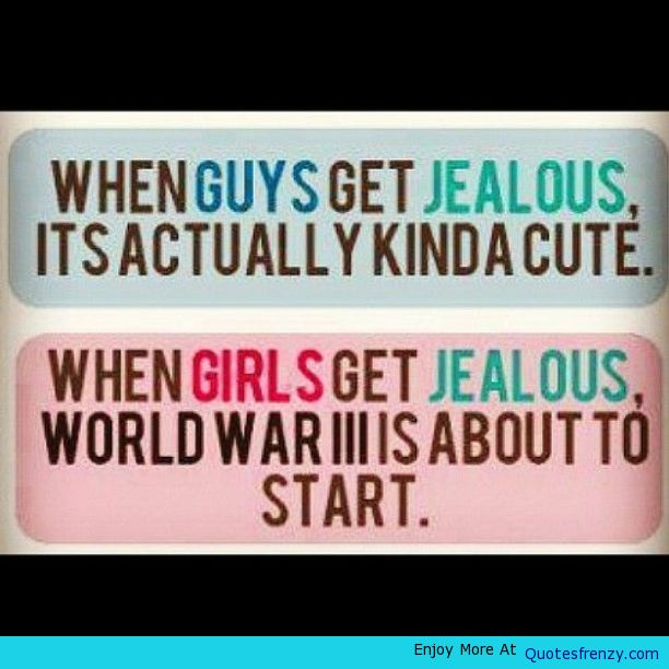 Jealousy Quotes For Girlfriends