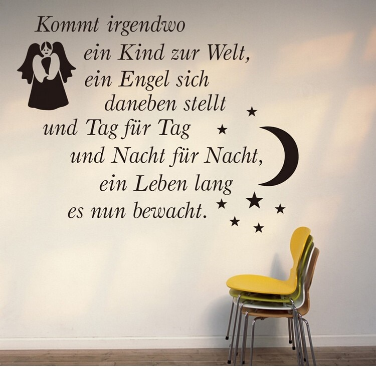Kommt German Letters Love Quotes Flower Words Wall Sticker Home Decor For Livingroom Bedroom Zitate Wandaufklebe Liebe Zyd In Wall Stickers From Home