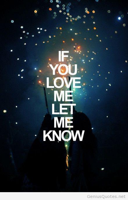 Let Me Know Please