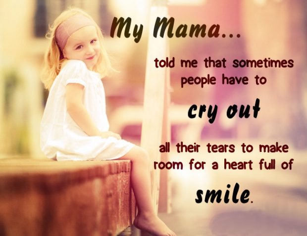 Mama_told_me_to_smile_baby Girl Quote