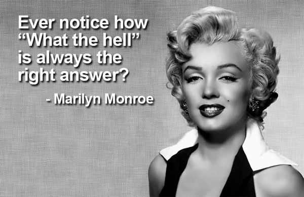 Marilyn Monroe Quotes With Pictures About Life