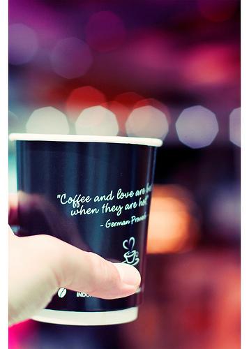 I Love Coffee  E  A
