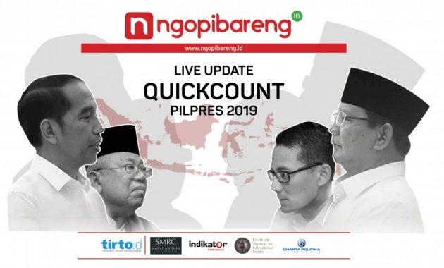 Quick Count di HP Ini 6 Link Live Streaming Quick Count Pilpres (NgopiBareng)