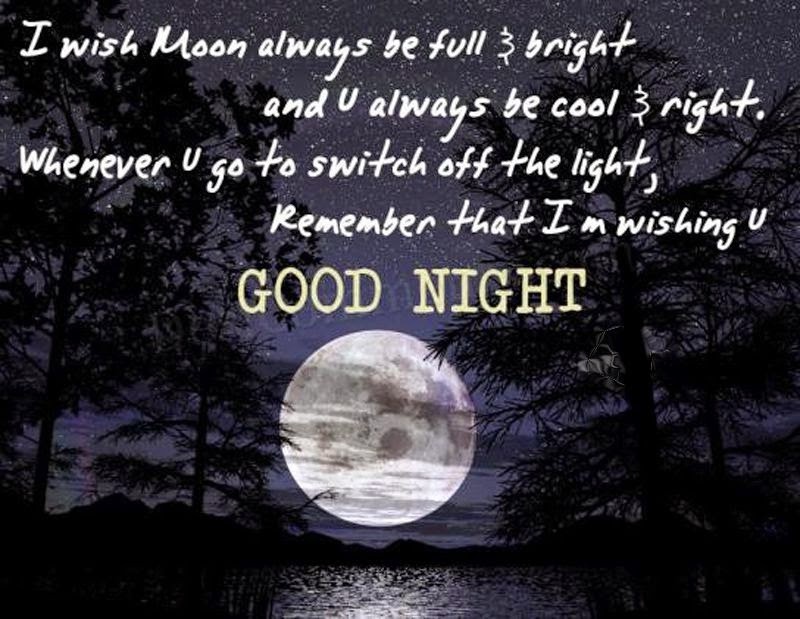 Romantic Good Night Love You Quotes