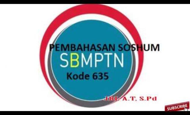 SBMPTN dan Contoh Soal: UTBK SOSHUM 2019, Pembahasan soal ...