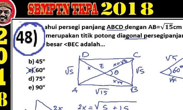 SBMPTN dan Contoh Soal: pembahasan soal SBMPTN 2018 TKPA ...